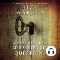 God's Answers to Life's Difficult Questions