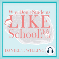 Why Don't Students Like School?