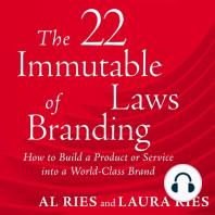 22 Immutable Laws of Branding