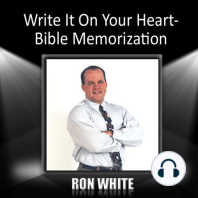 Write It On Your Heart-Bible Memorization