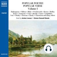 Popular Poetry, Popular Verse – Volume I