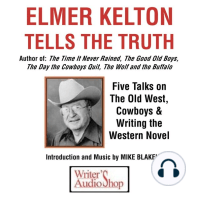 Elmer Kelton Tells the Truth