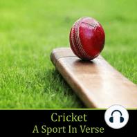 Cricket, A Sport in Verse