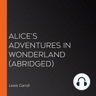 Alice's Adventures in Wonderland (abridged)