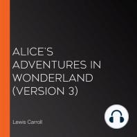 Alice's Adventures in Wonderland (version 3)