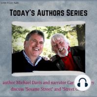 Author Michael Davis with Narrator Caroll Spinney