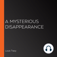 A Mysterious Disappearance