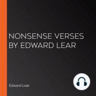 Nonsense Verses by Edward Lear