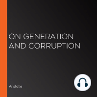 On Generation and Corruption
