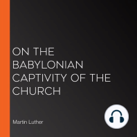 On the Babylonian Captivity of the Church