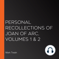 Personal Recollections of Joan of Arc, Volumes 1 & 2
