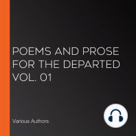 Poems and Prose for the Departed Vol. 01