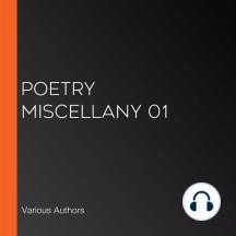 Poetry Miscellany 01