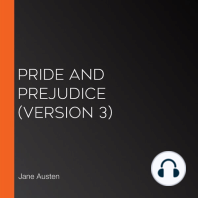 Pride and Prejudice (version 3)
