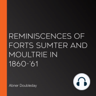 Reminiscences of Forts Sumter and Moultrie in 1860-'61