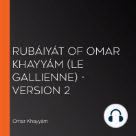 Rubáiyát of Omar Khayyám (Le Gallienne) - Version 2