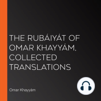 The Rubáiyát of Omar Khayyám, Collected Translations