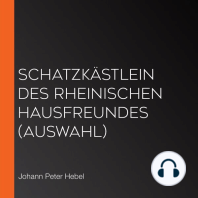 Schatzkästlein des Rheinischen Hausfreundes (Auswahl)