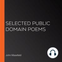 Selected Public Domain Poems