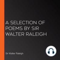 A Selection of Poems by Sir Walter Raleigh