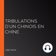 Tribulations d'un chinois en Chine