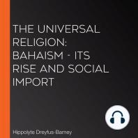 Universal Religion, The