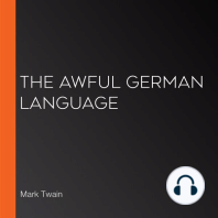 Awful German Language, The (Version 3)