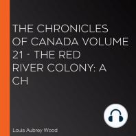 Chronicles of Canada Volume 21 - The Red River Colony, The