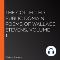 The Collected Public Domain Poems of Wallace Stevens, Volume 1