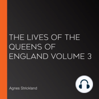 The Lives of the Queens of England Volume 3