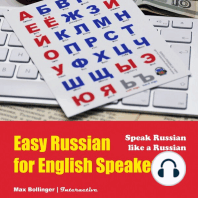 Speak Russian Like a Russian