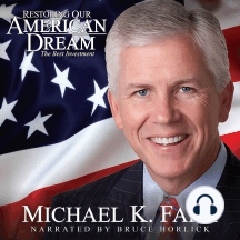 Restoring Our American Dream: The Best Investment