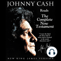 Johnny Cash Reads The New Testament