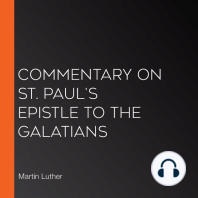 Commentary on St. Paul's Epistle to the Galatians