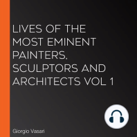 Lives of the Most Eminent Painters, Sculptors and Architects Vol 1