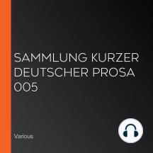 Sammlung kurzer deutscher Prosa 005