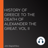 History of Greece to the Death of Alexander the Great, Vol II
