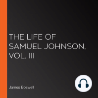 The Life of Samuel Johnson, Vol. III