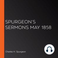 Spurgeon's Sermons May 1858