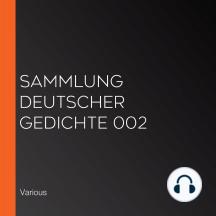 Sammlung deutscher Gedichte 002