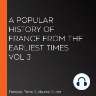 A Popular History of France from the Earliest Times vol 3