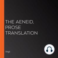 The Aeneid, prose translation