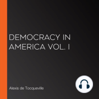 Democracy in America Vol. I