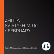Zhitiia Sviatykh, v. 06 - February