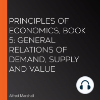 Principles of Economics, Book 5: General Relations of Demand, Supply and Value