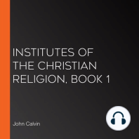 Institutes of the Christian Religion, Book 1