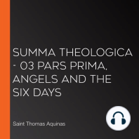 Summa Theologica - 03 Pars Prima, Angels and the Six Days