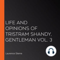 Life and Opinions of Tristram Shandy, Gentleman Vol. 3