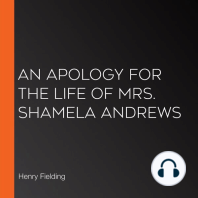 An Apology for the Life of Mrs. Shamela Andrews