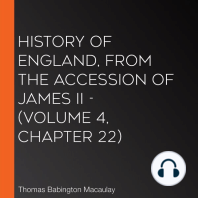 History of England, from the Accession of James II - (Volume 4, Chapter 22)
